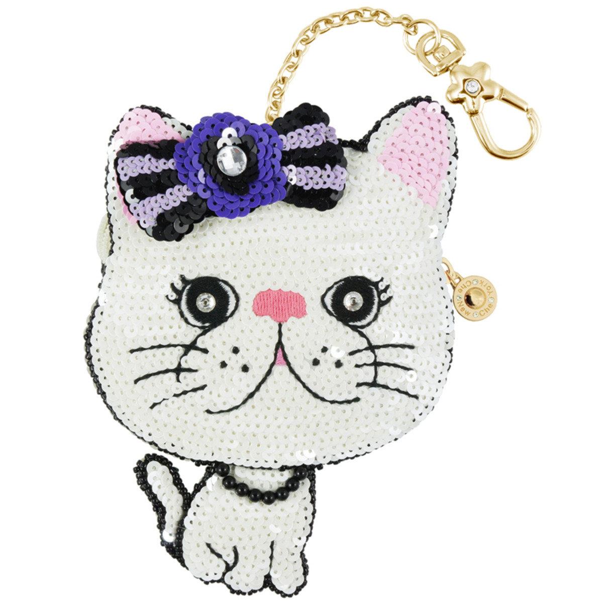 優雅貓零錢包