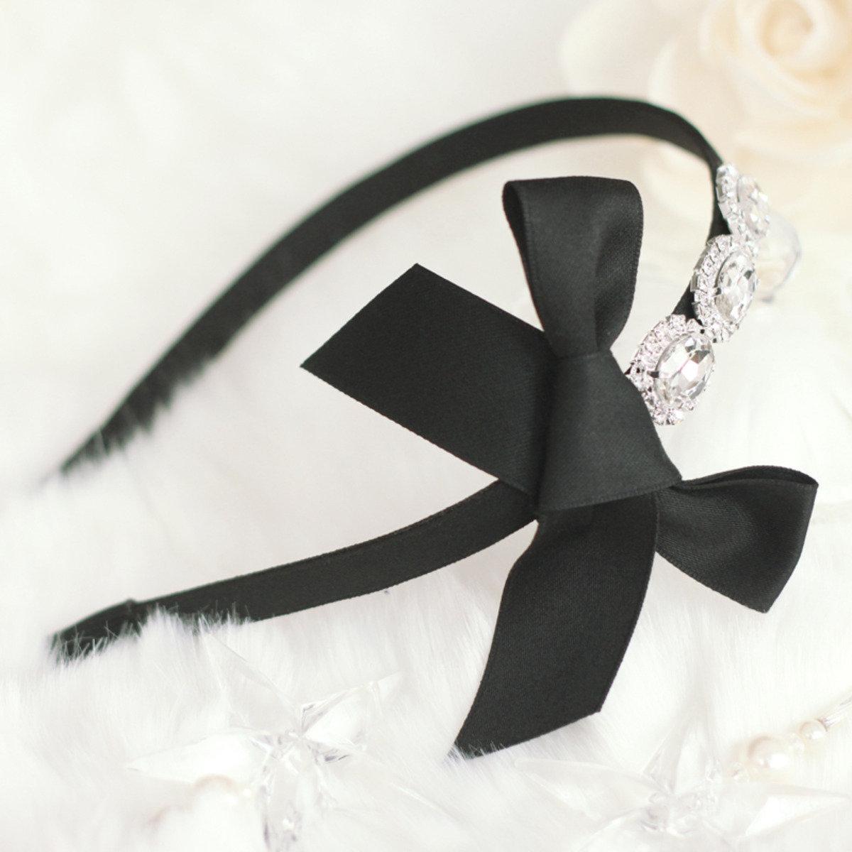 甜美蝴蝶結頭箍