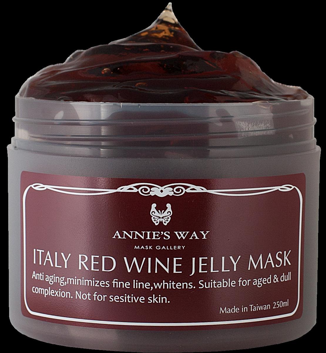 義大利紅酒果凍面膜 250毫升