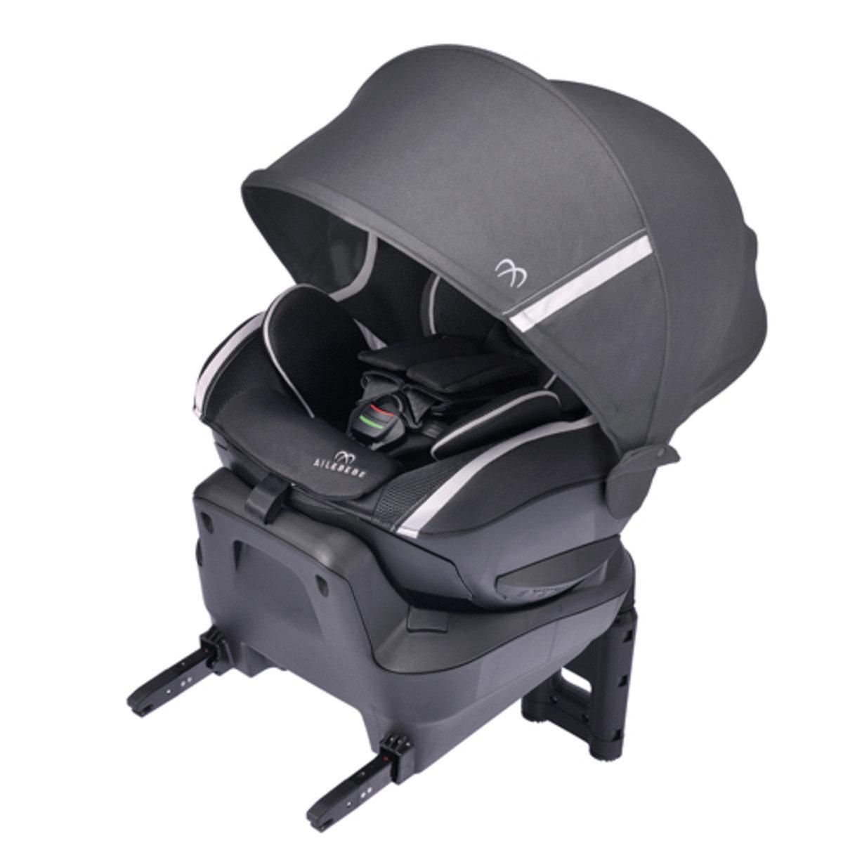 ISOFIX專用型幼兒汽車安全椅 (黑色)