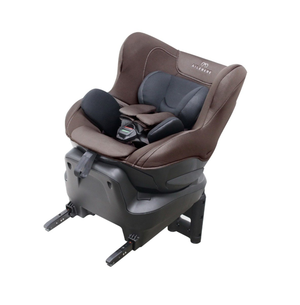 ISOFIX專用型幼兒汽車安全椅 (啡色)