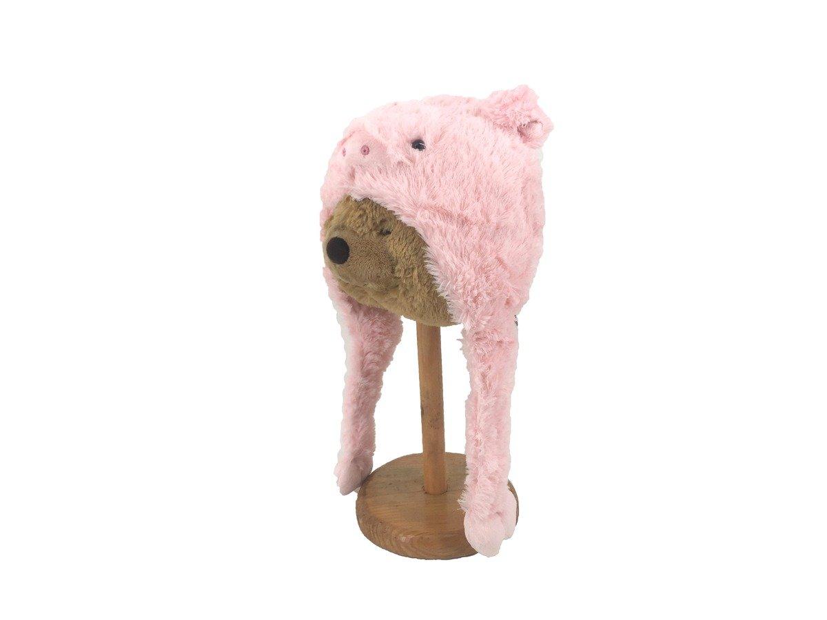 COLOR RICH -  動物造型帽子 - 豬  (48cm) - 18A0341