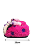 動物毛毛鞋 - 蝴蝶 (28cm) - SL0013