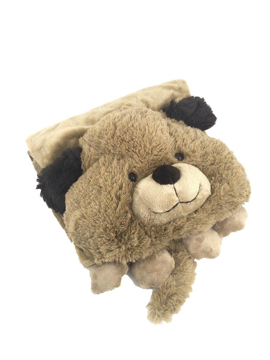 COLOR RICH - 動物造型毯 - 狗 (125cm x 90cm) - 20K134