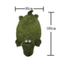 COLOR RICH -  動物造型地墊 - 鱷魚 (180cm x 90cm) - C17271