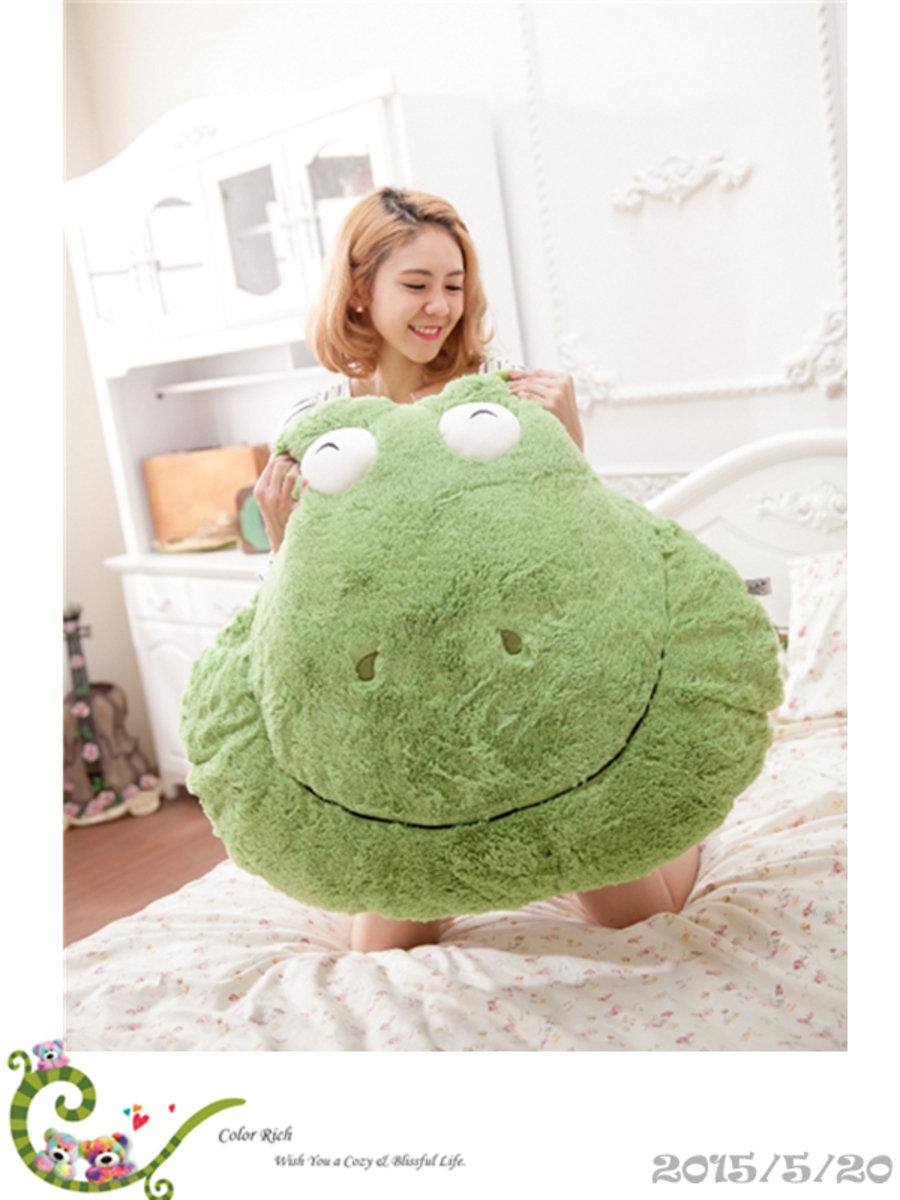 COLOR RICH -  大靠墊 - 青蛙  (66cm x 84cm) - 20K035