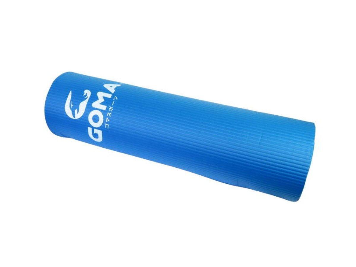 運動地墊 15mm, 藍色