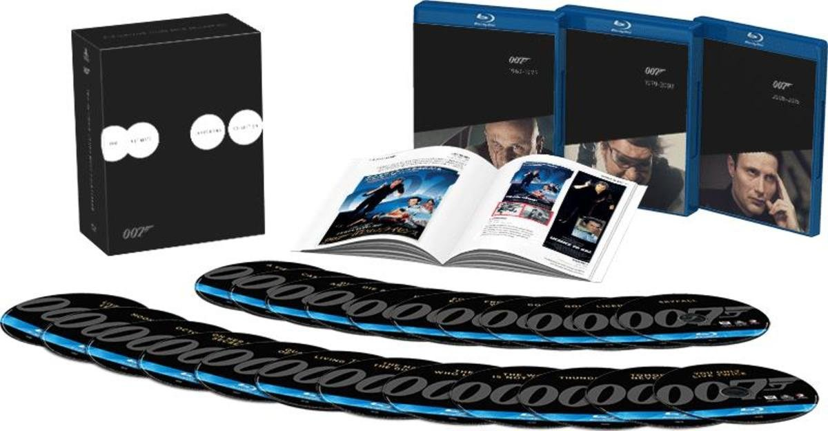007:占士邦24碟珍藏藍光套裝(2015)