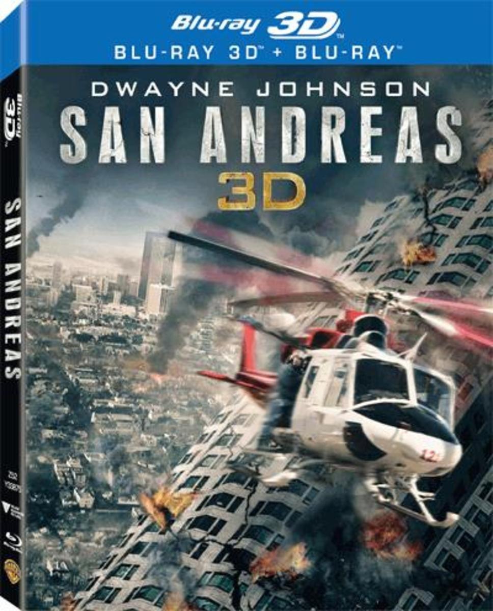 加州大地震 (3D)(雙碟裝)