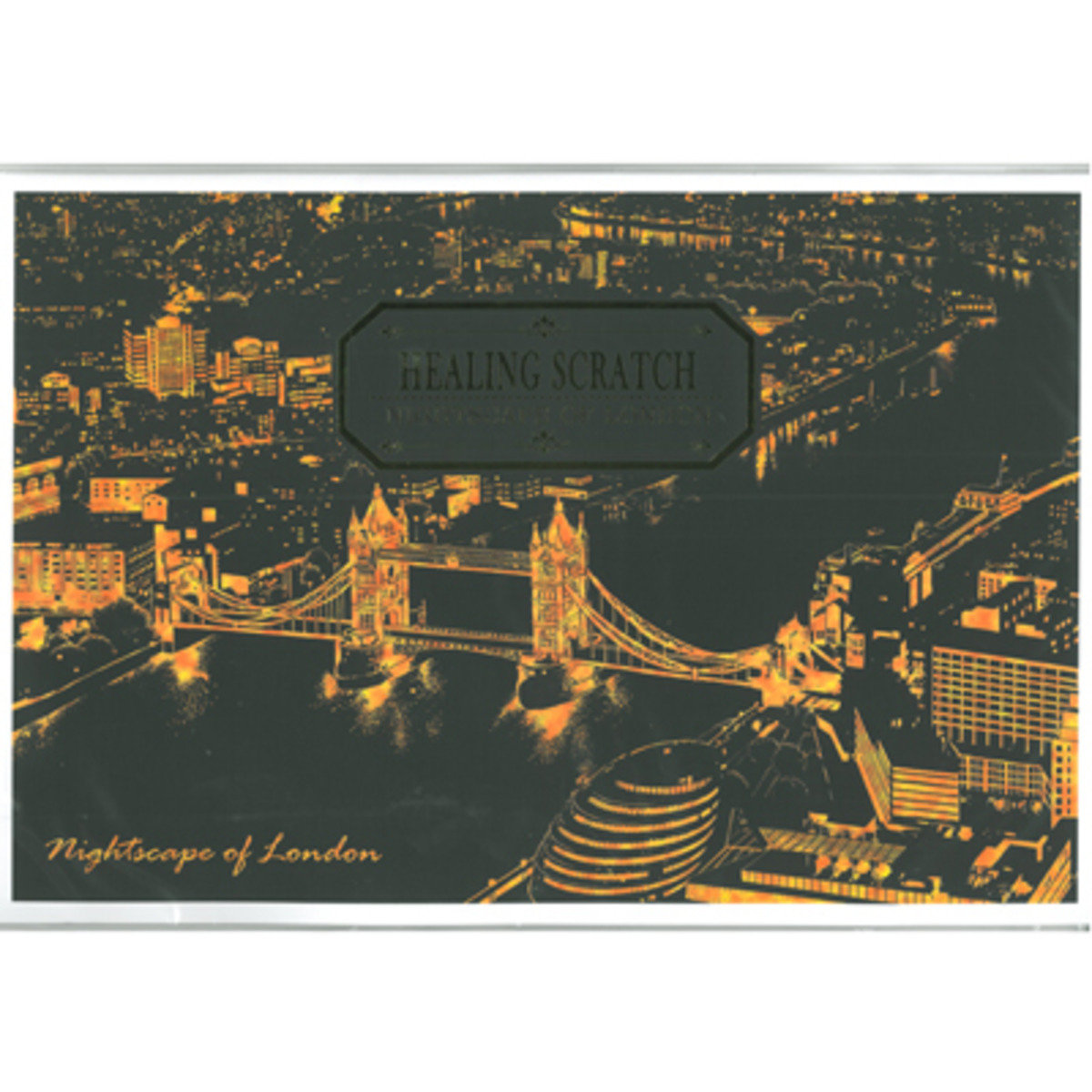 HEALING SCRATCH - NIGHTSCAPE OF LONDON 8809379160733