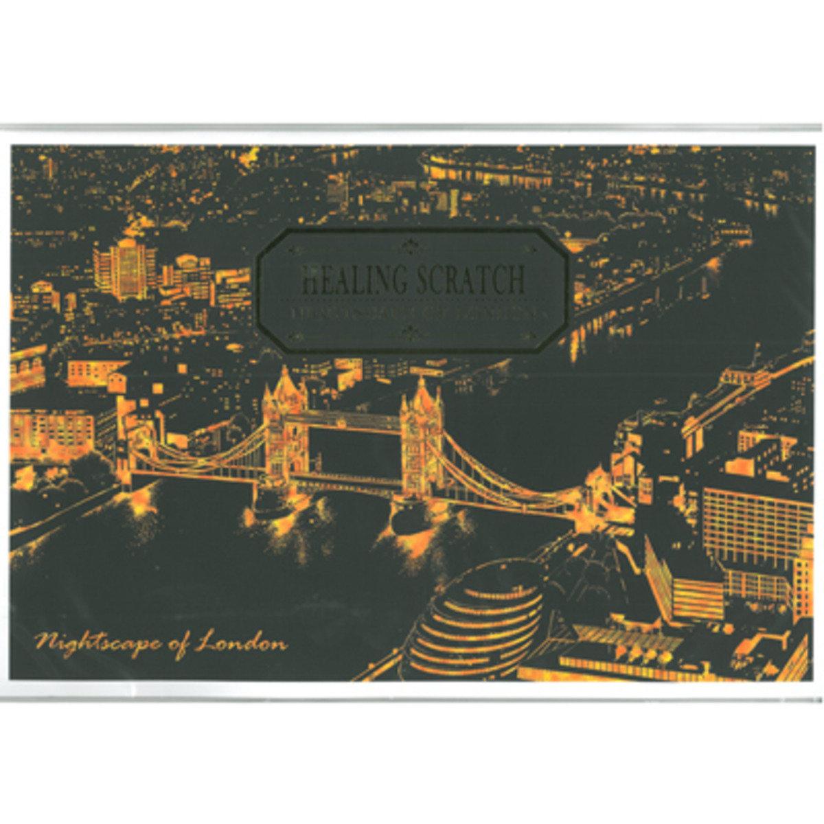 HEALING SCRATCH - NIGHTSCAPE OF LONDON 8809379160733