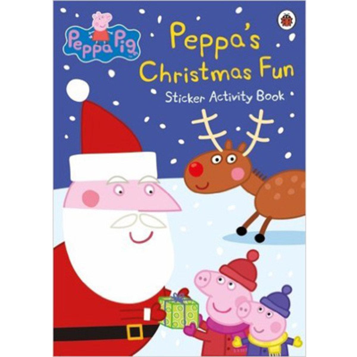 PEPPA'S CHRISTMAS FUN STICKER ACTIVITY BOOK 9780241200414
