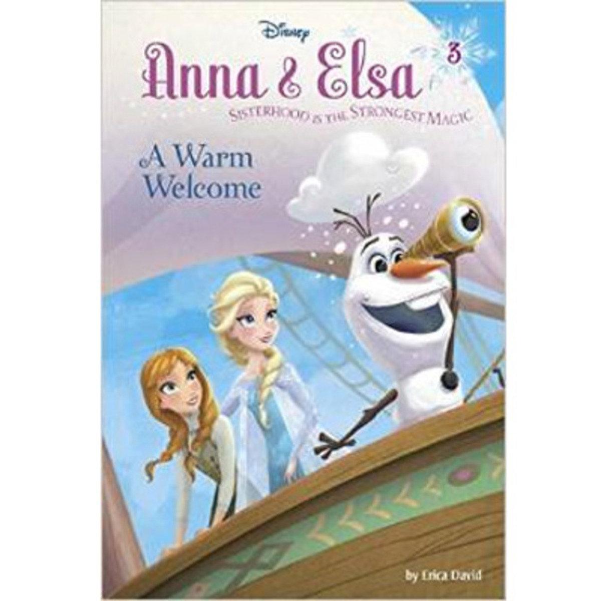ANNA & ELSA #3: A WARM WELCOME 9780736432894