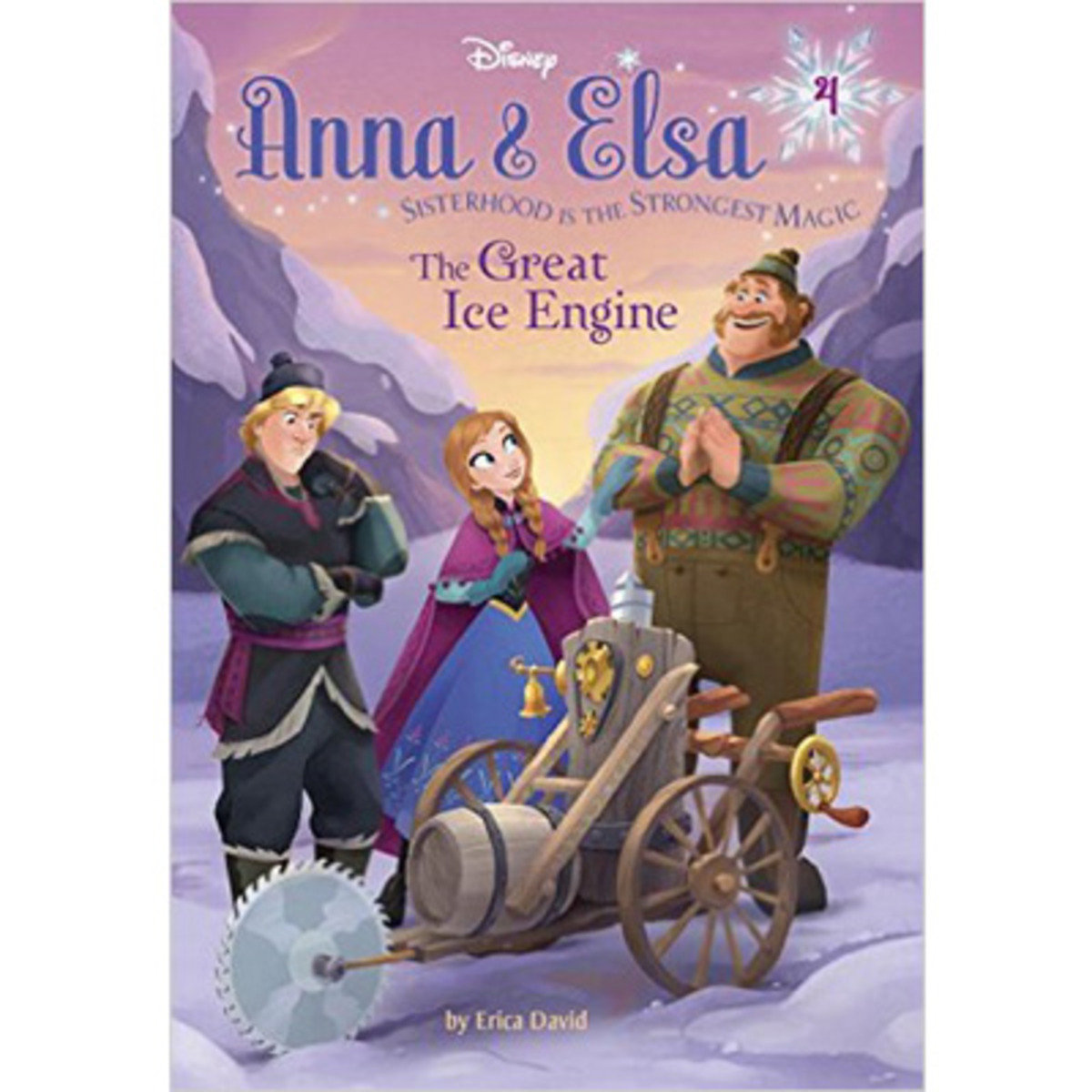 ANNA & ELSA #4: THE GREAT ICE ENGINE 9780736434317