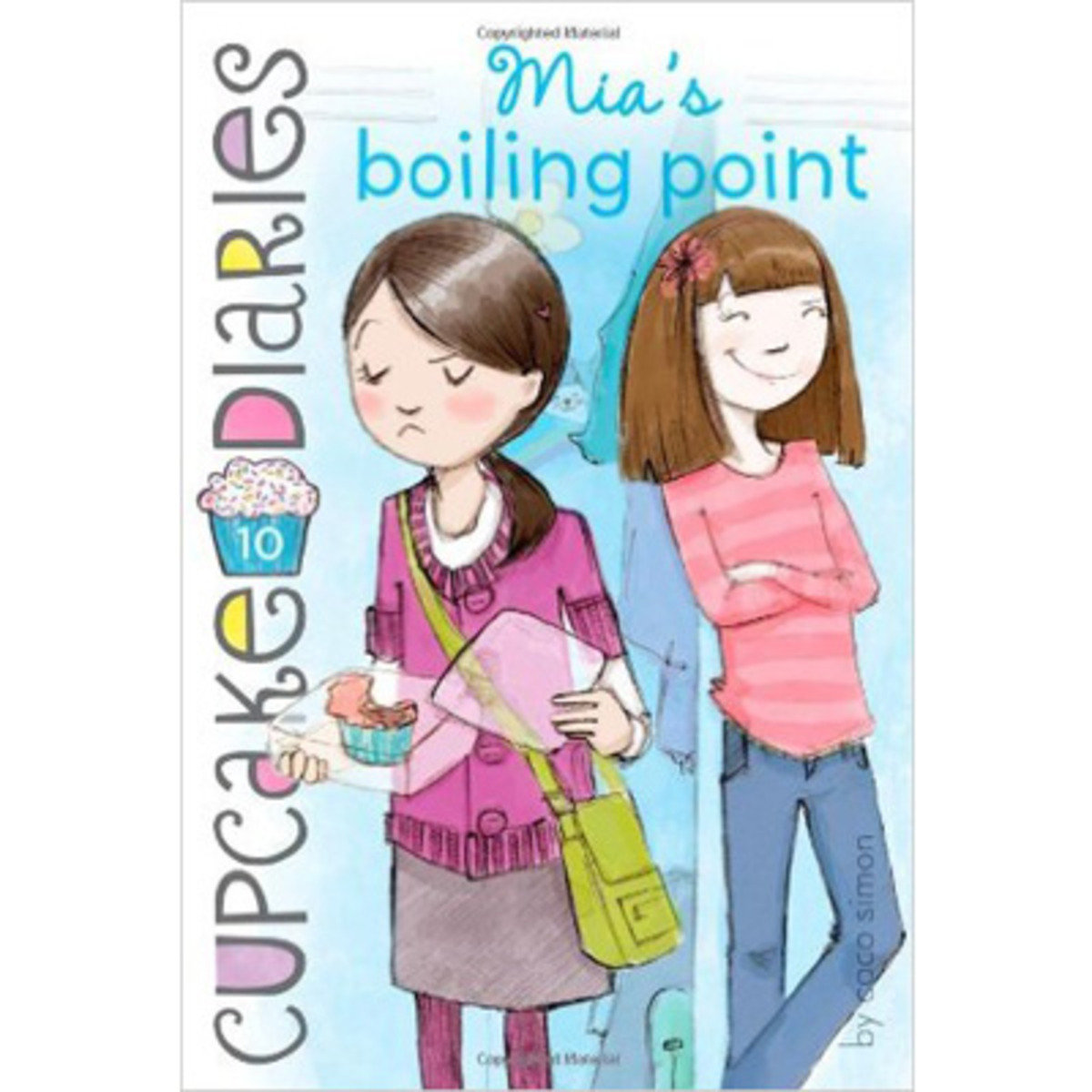 CUPCAKE DIARIES #10 MIA'S BOILING POINT 9781442453968