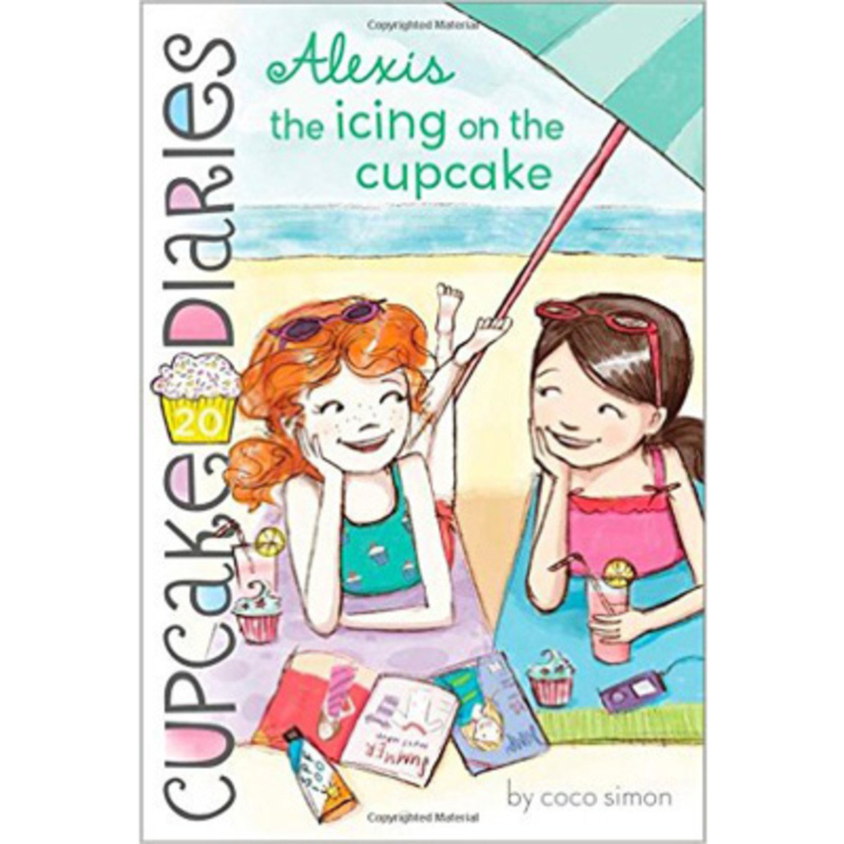 CUPCAKE DIARIES ALEXIS THE ICING ON THE CUPCAKE 9781481404686