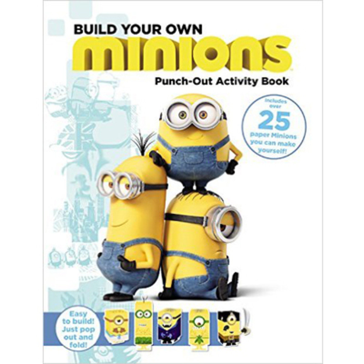 MINIONS: BUILD YOUR OWN MINIONS PUNCH-OUT ACTIVITY BOOK 9780316299992