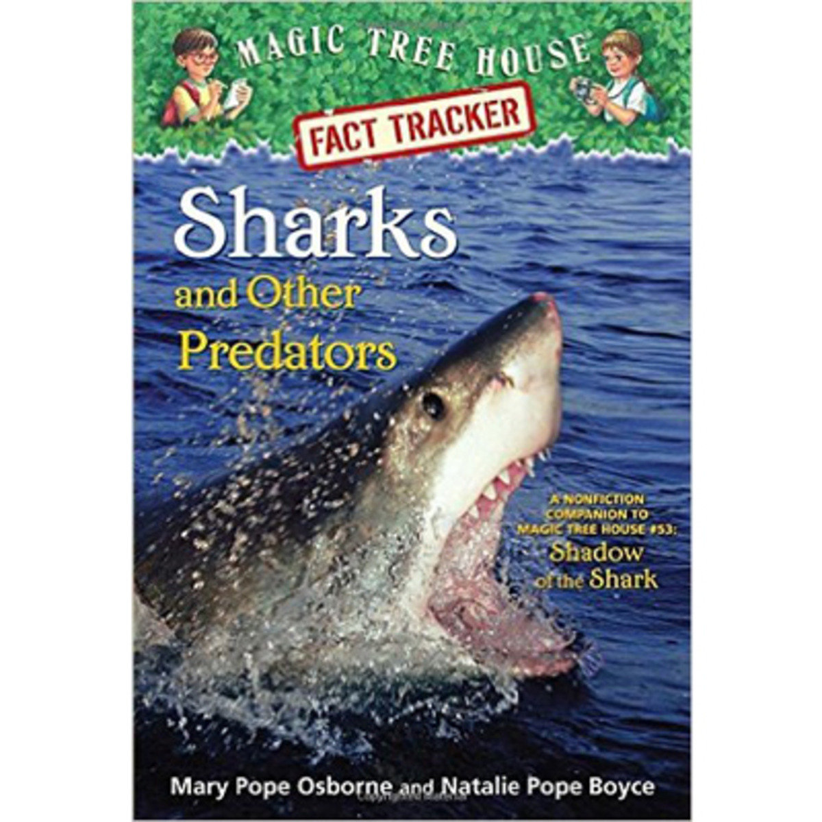 SHARK AND OTHER PREDATORS (Magic Tree House) 9780385386418