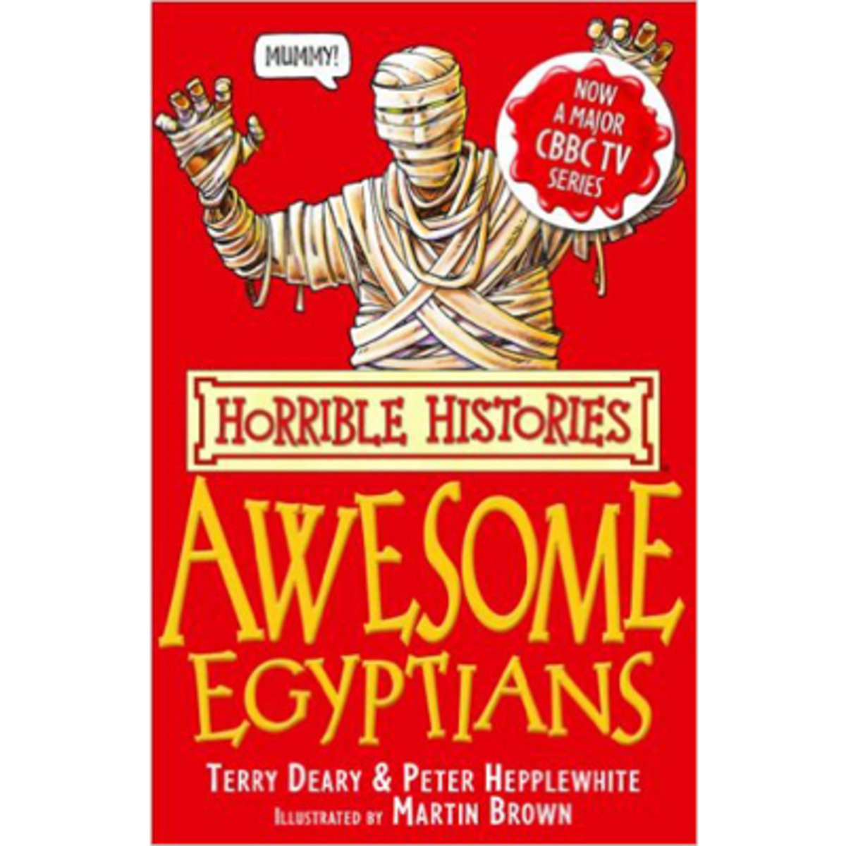 HORRIBLE HISTORIES: THE AWESOME EGYPTIANS 9780439944038