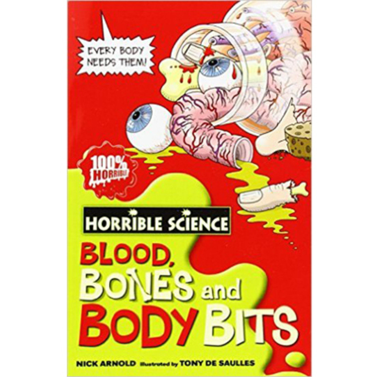 HORRIBLE SCIENCE: BLOOD, BONES AND BODY BITS 9780439944496