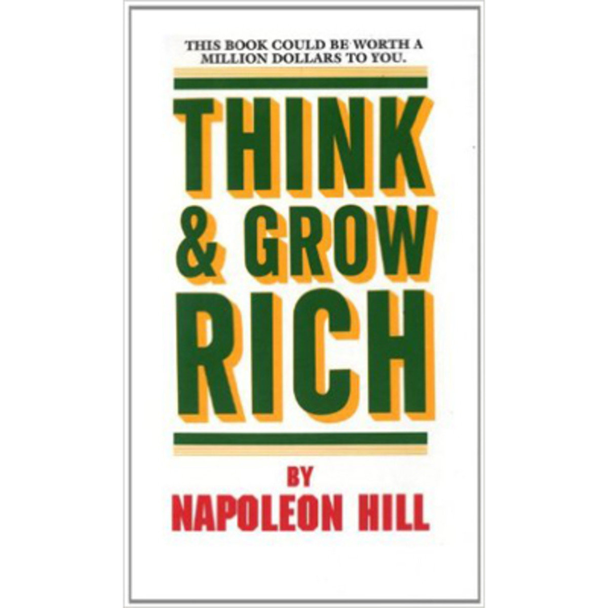 THINK AND GROW RICH 9780449214923