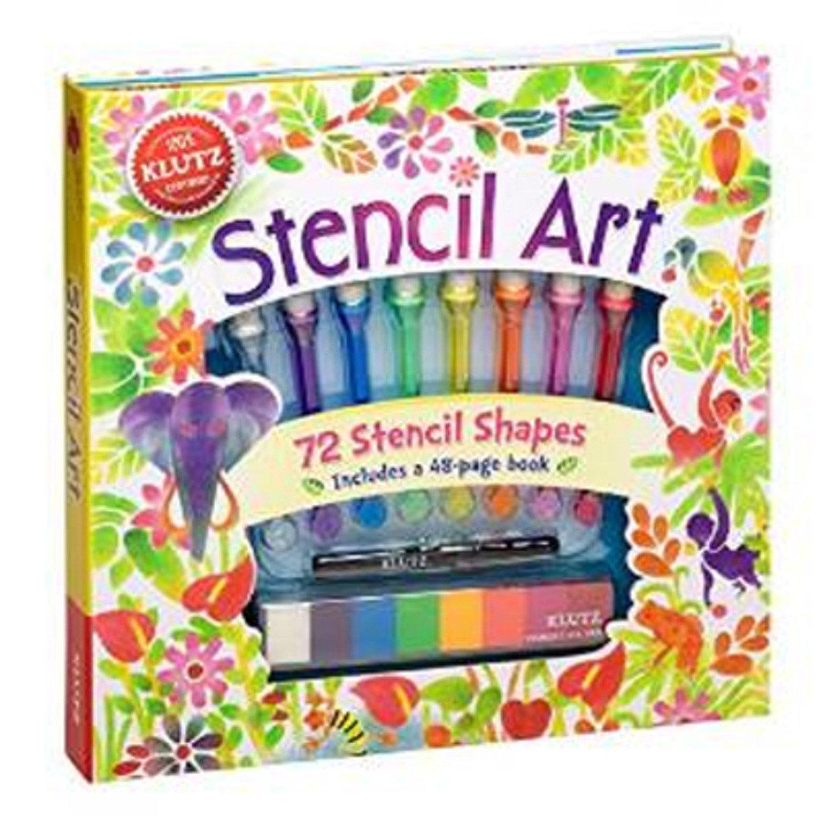 STENCIL ART 9780545561662