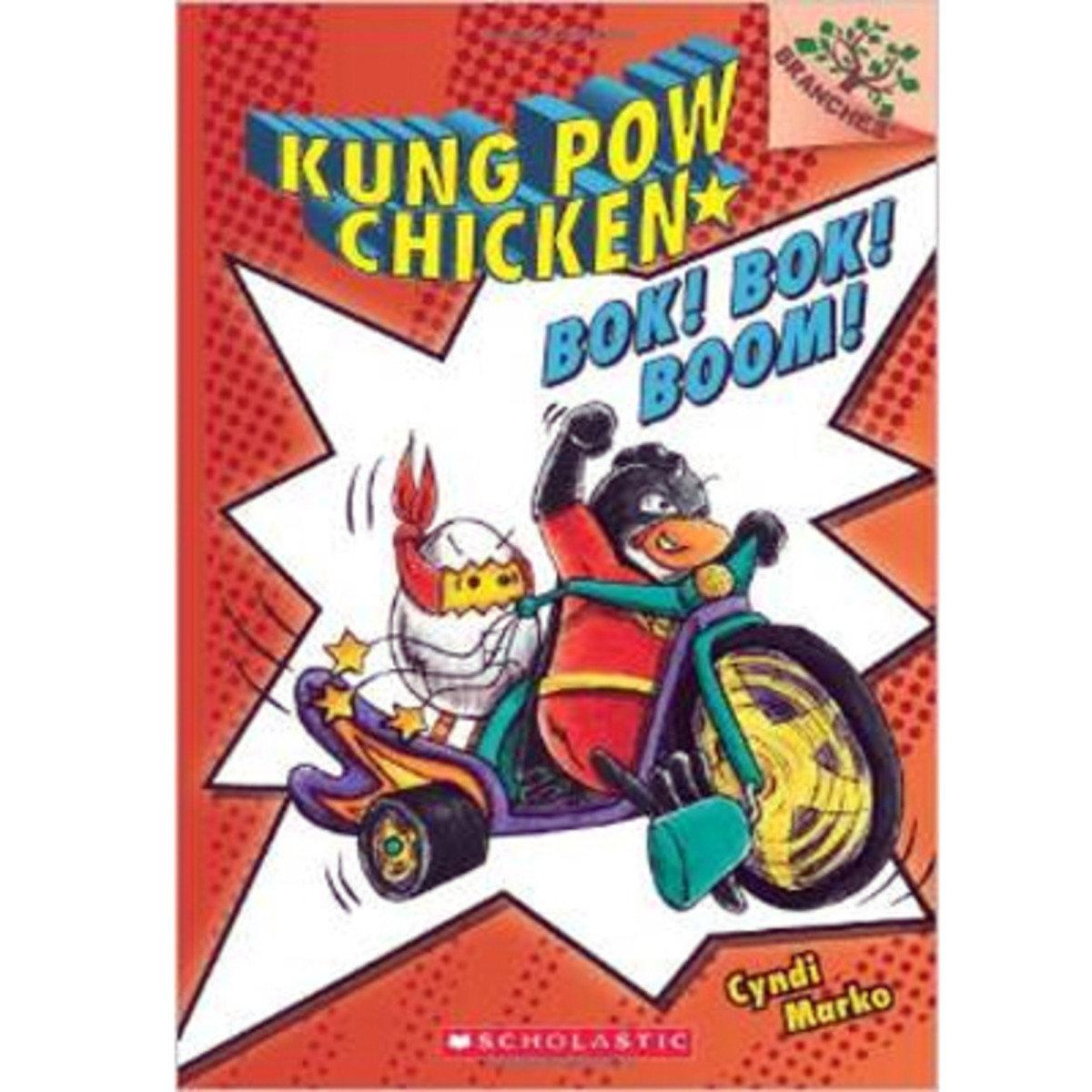 KUNG POW CHICKEN: BOK! BOK! BOOM! 9780545610636