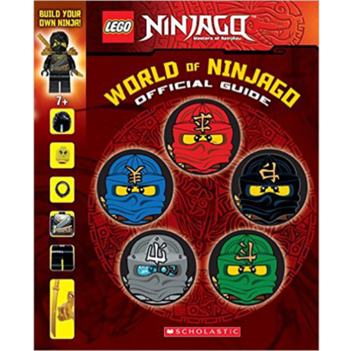 WORLD OF NINJAGO: OFFICIAL GUIDE 9780545808019