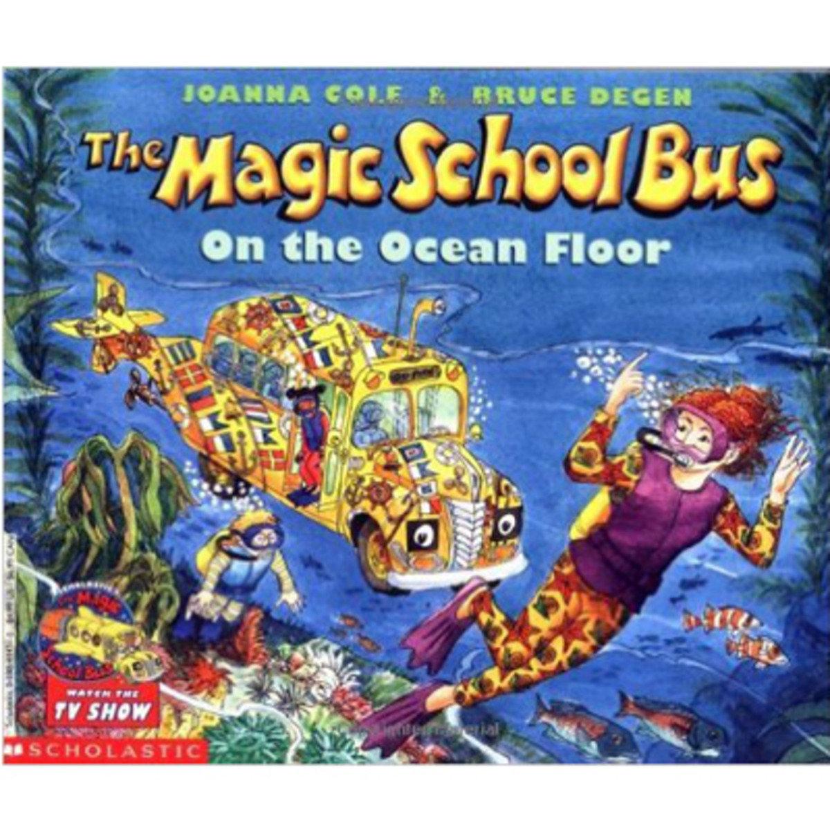 THE MAGIC SCHOOL BUS ON THE OCEAN FLOOR 9780590414319
