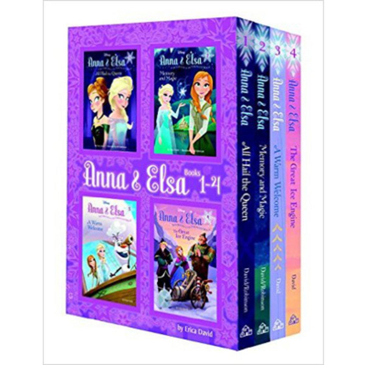ANNA & ELSA: BOOK 1-4 9780736434591