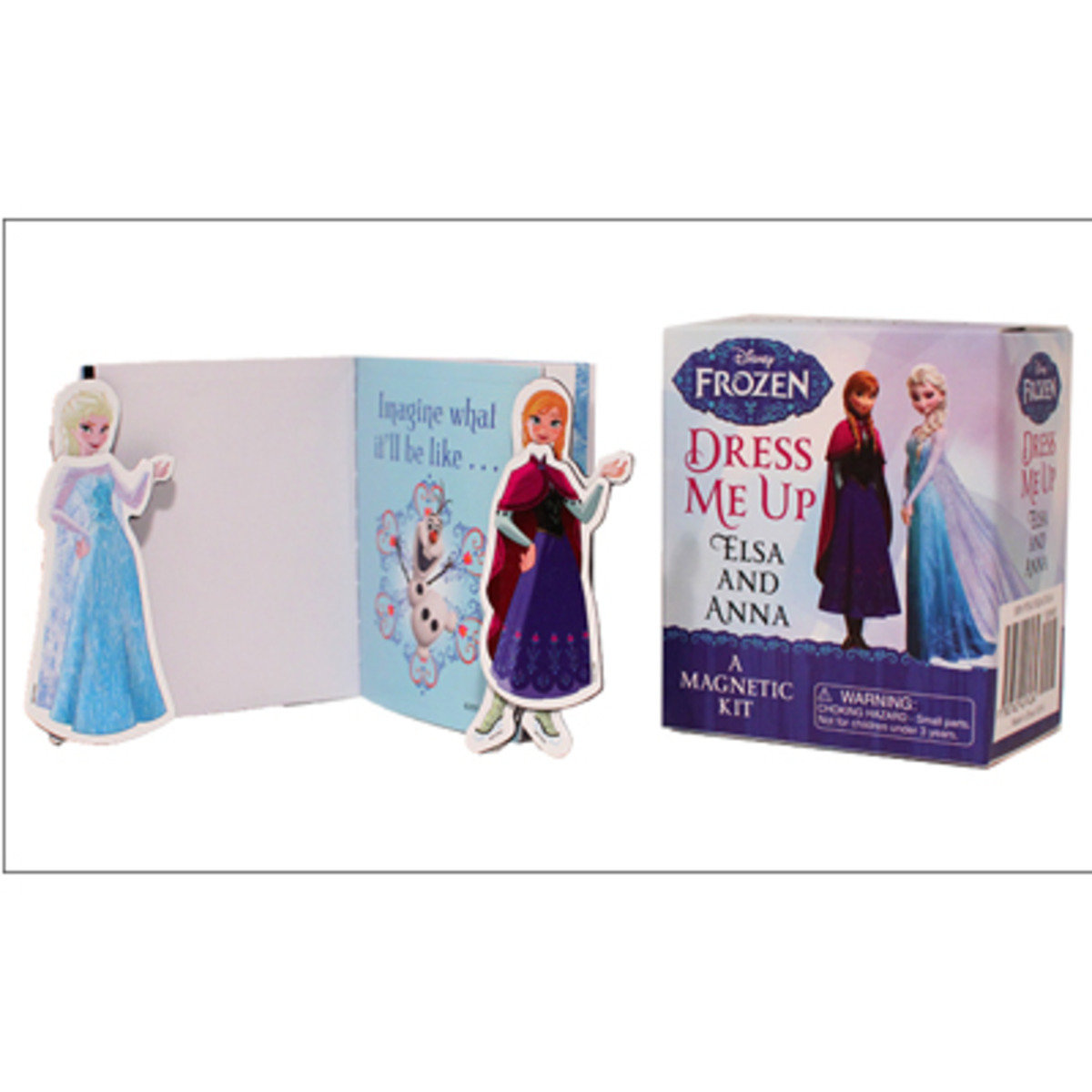 Frozen: Dress Me Up Elsa and Anna : A Magnetic Kit 978076245743