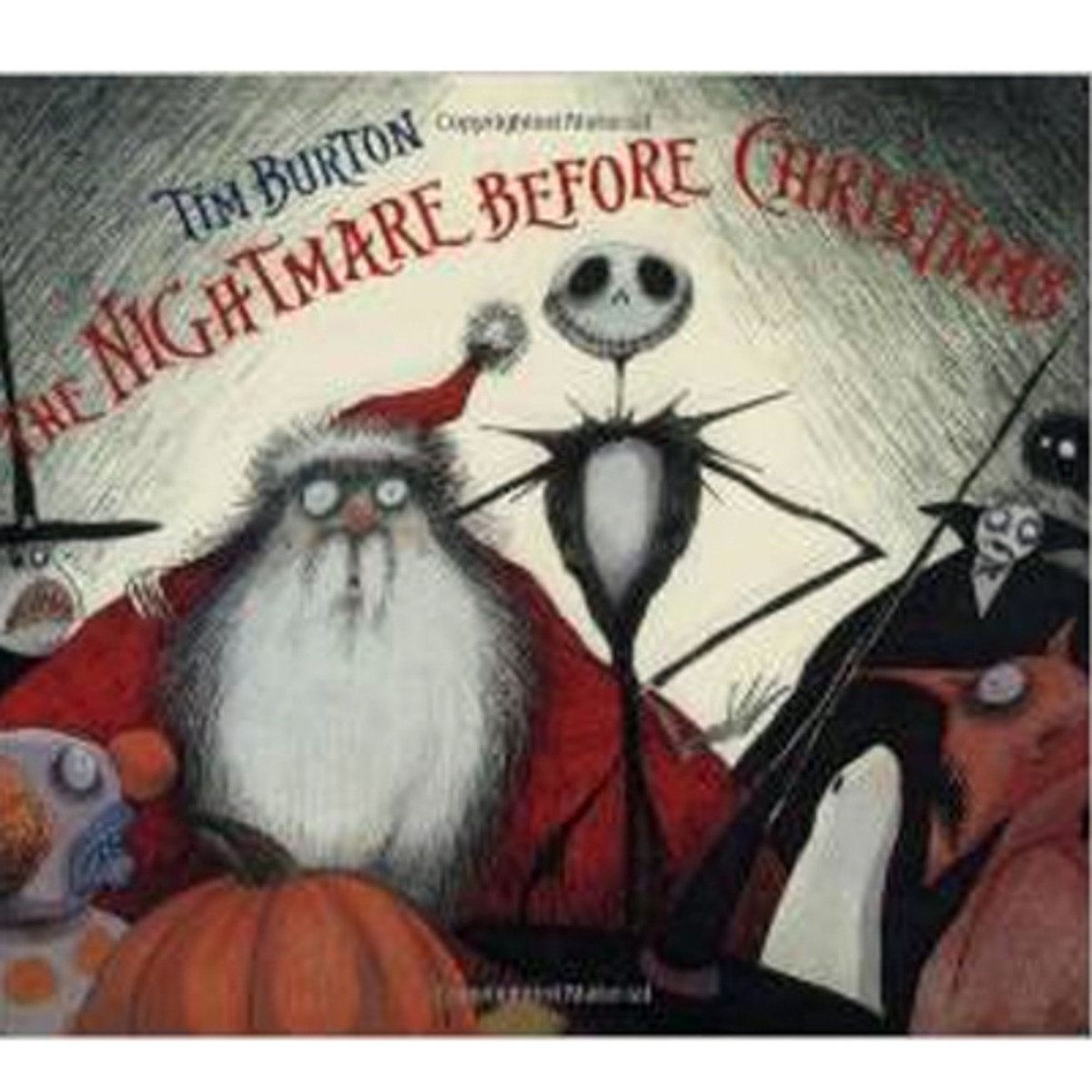 THE NIGHTMARE BEFORE CHRISTMAS 9780786849086