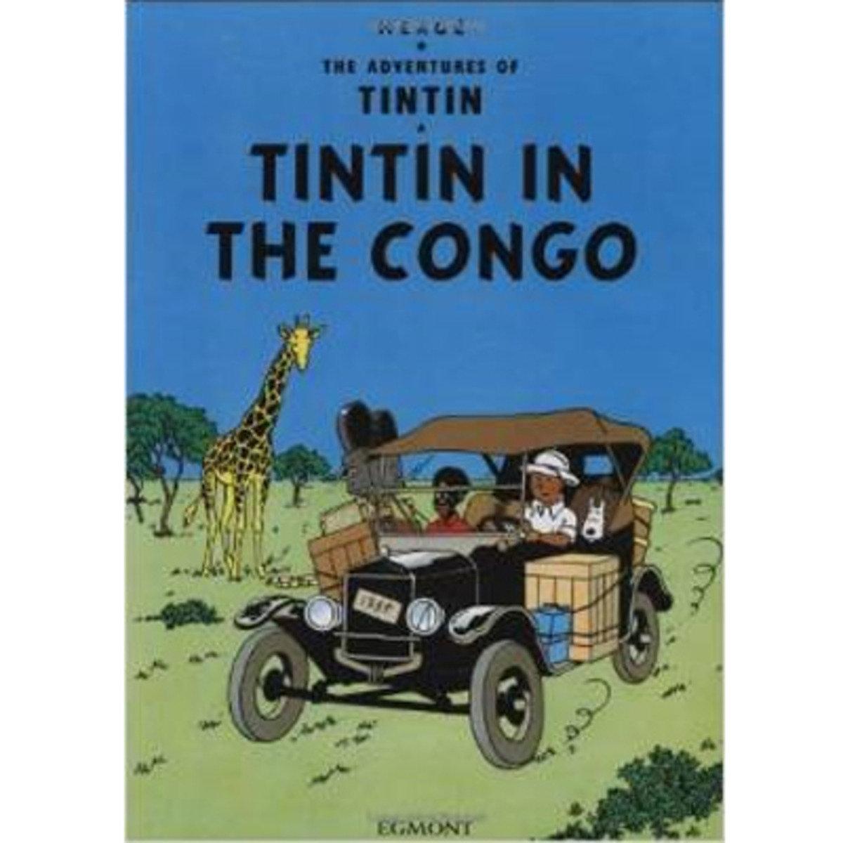 TINTIN IN THE CONGO 9781405220989