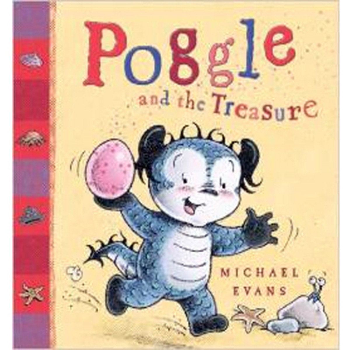 POGGLE AND THE TREASURE 9781405248112