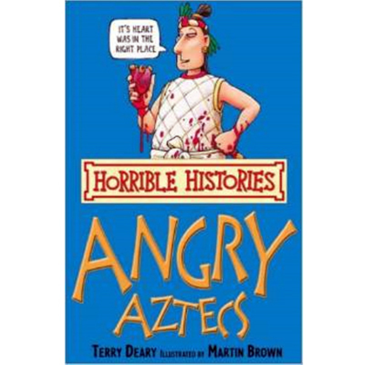 HORRIBLE HISTORIES: ANGRY AZTECS 9781407104256