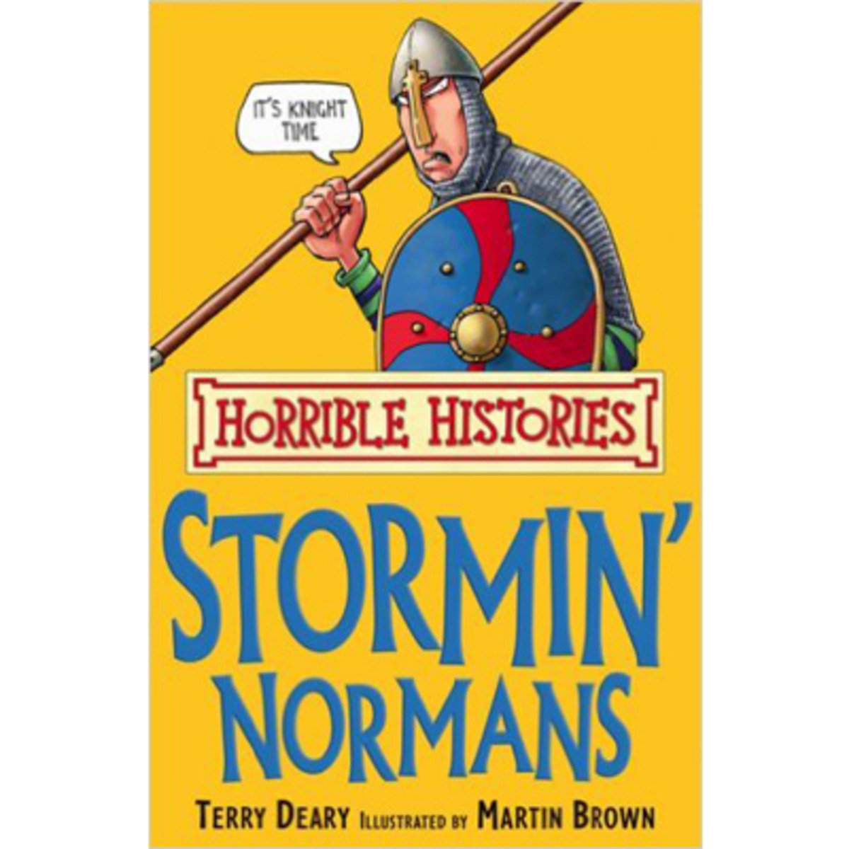 HORRIBLE HISTORIES: THE STORMIN' NORMANS 9781407104300