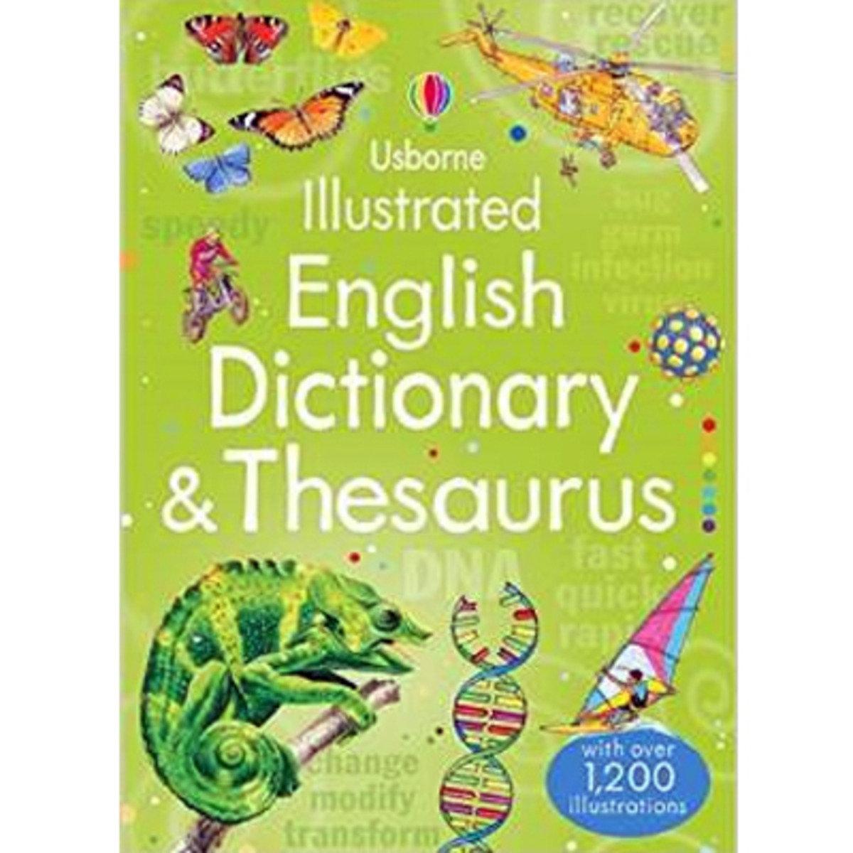 ILLUSTRATED ENGLISH DICTIONARY & THESAURUS 9781409584360