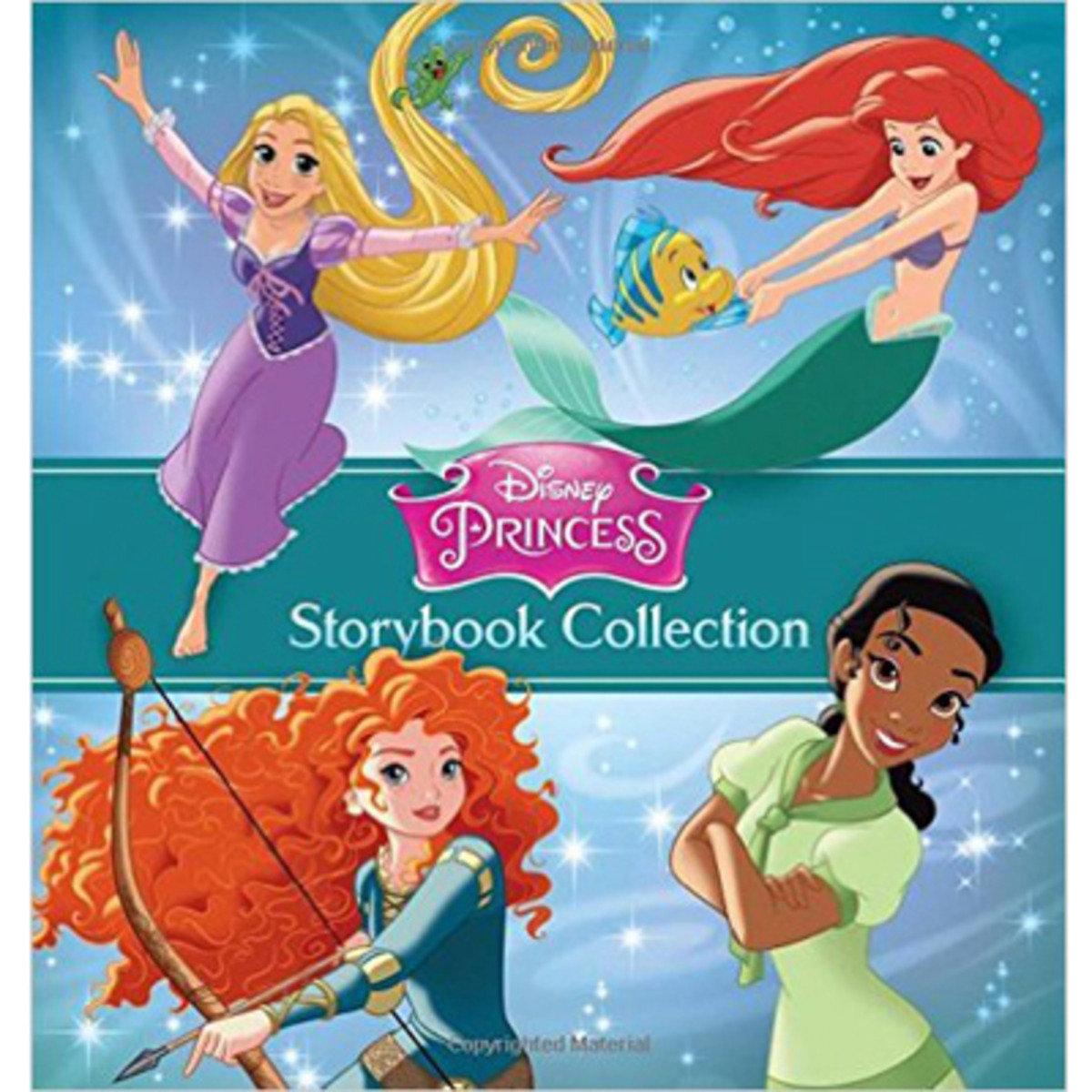 DISNEY PRINCESS STORYBOOK COLLECTION 9781484712832