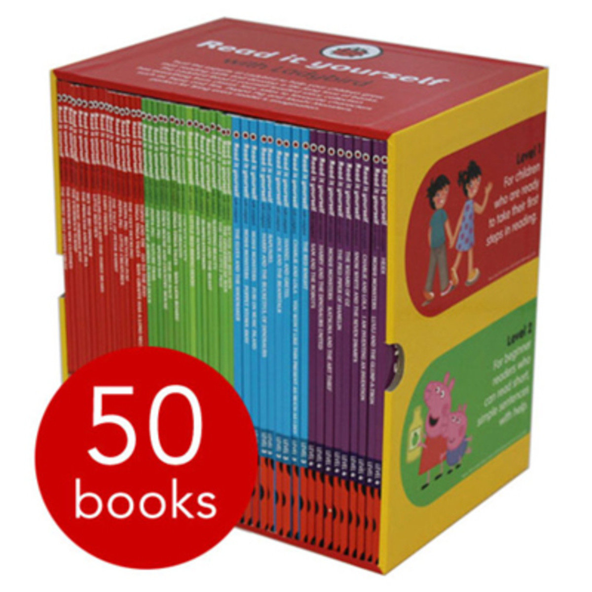 Ladybird Read It Yourself Collection - 50 Books