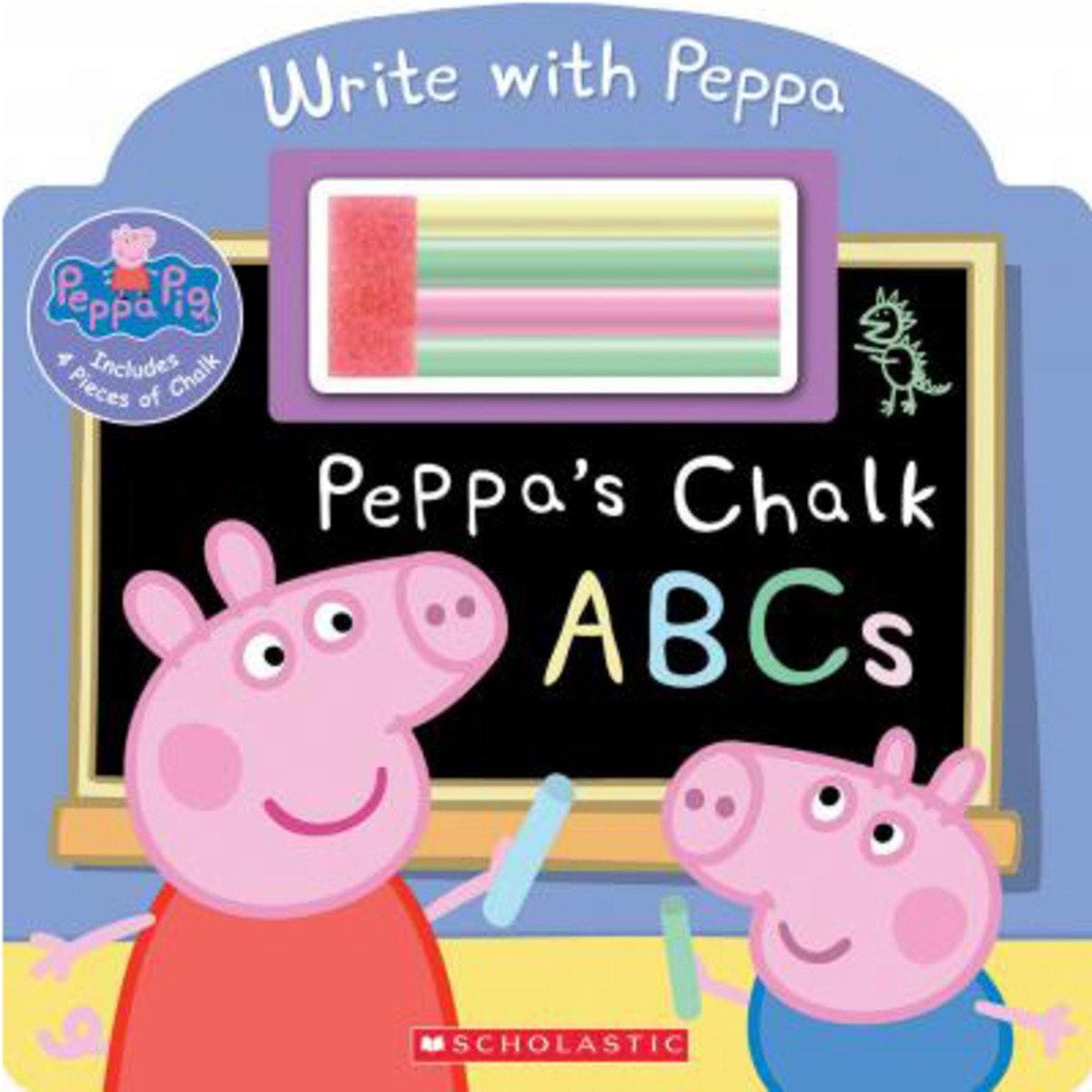Peppa's Chalk ABCs