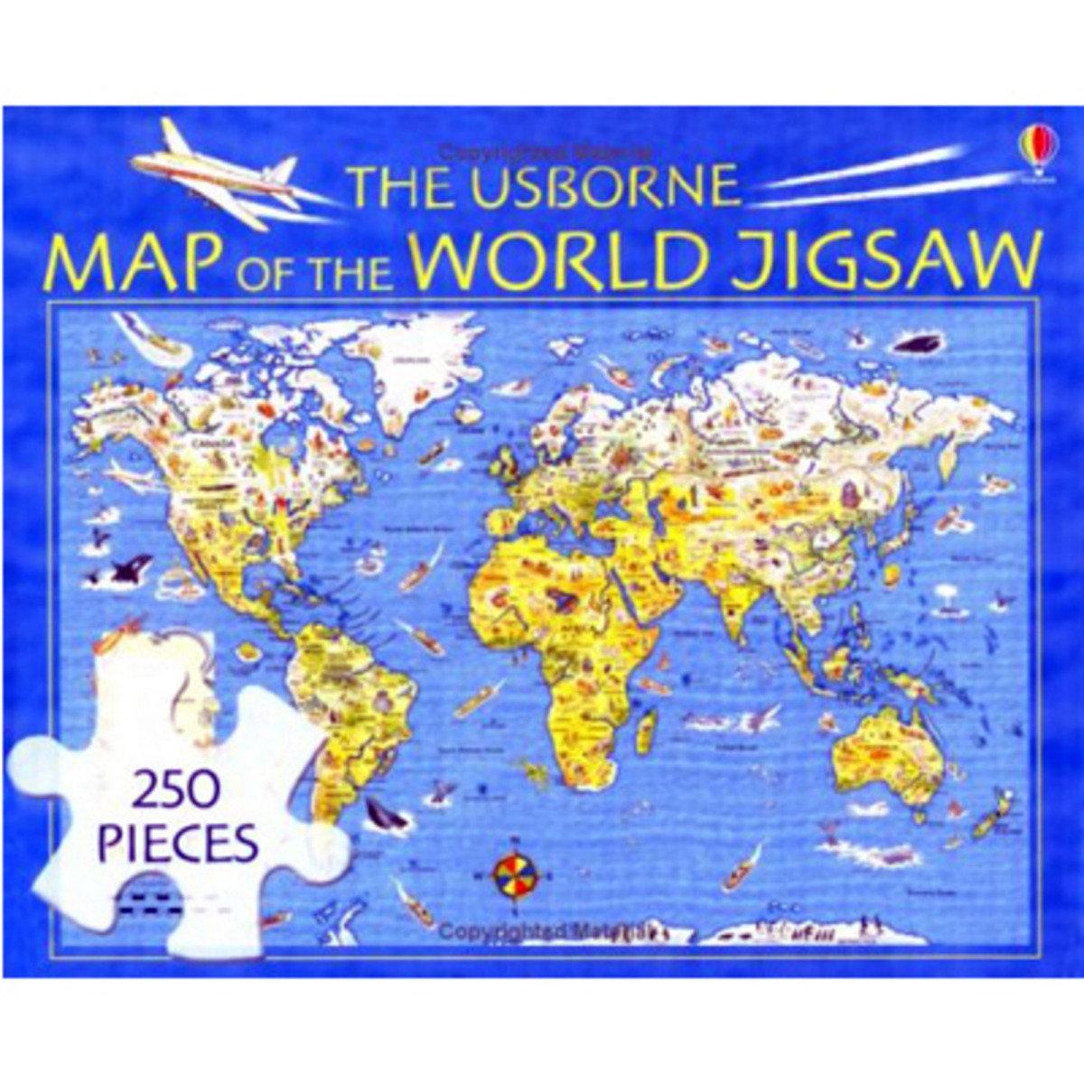 Usborne Map of the World Jigsaw
