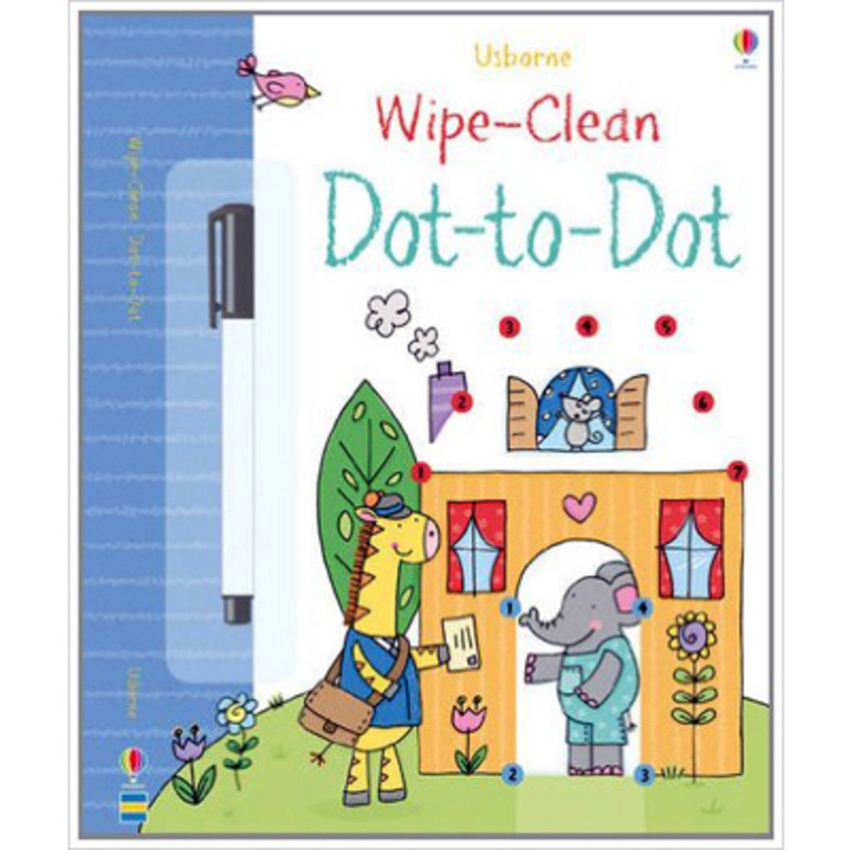 Usborne Wipe-Clean Dot-To-Dot