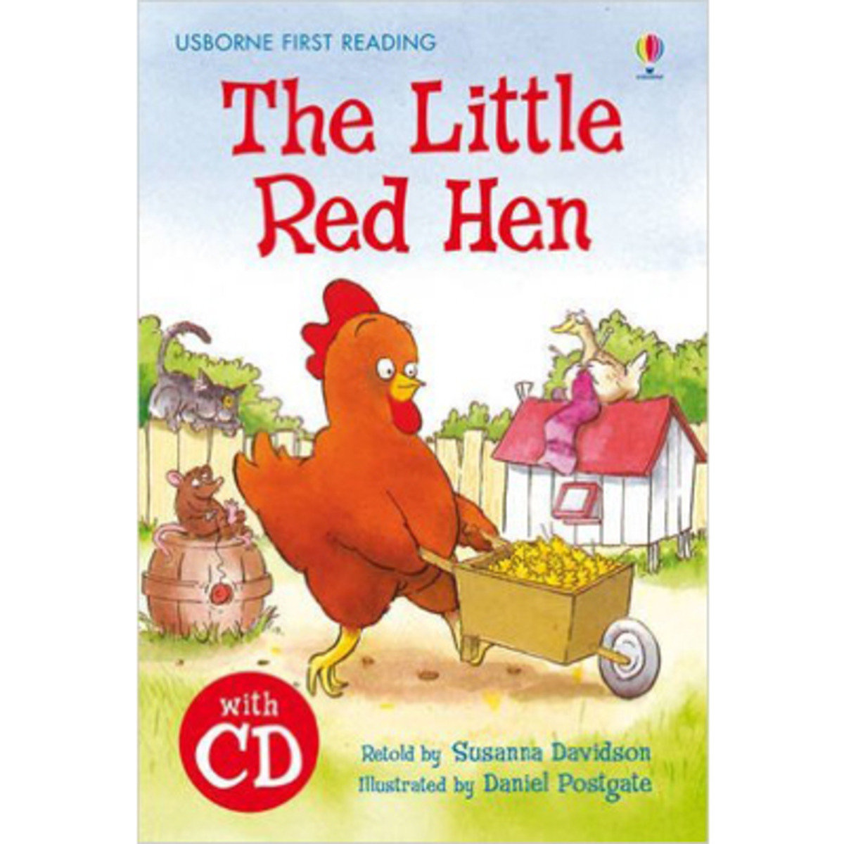 The Little Red Hen-First Reading with CD