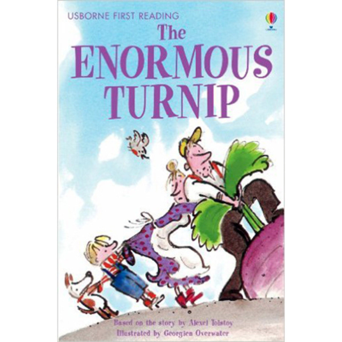 The Enormous Turnip-First Reading with CD
