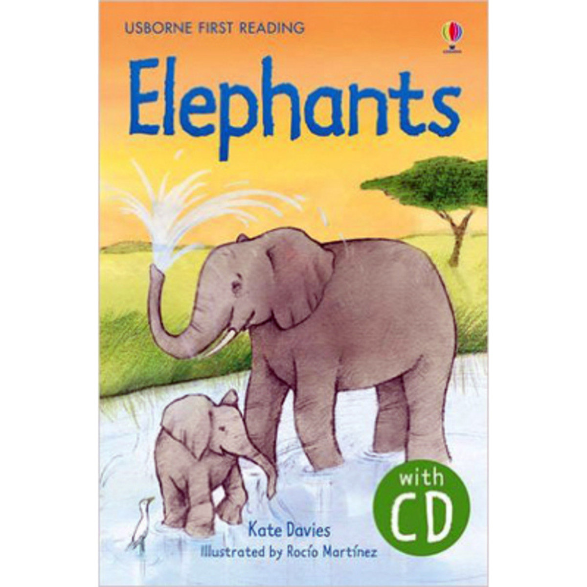 Elephants-First Reading with CD