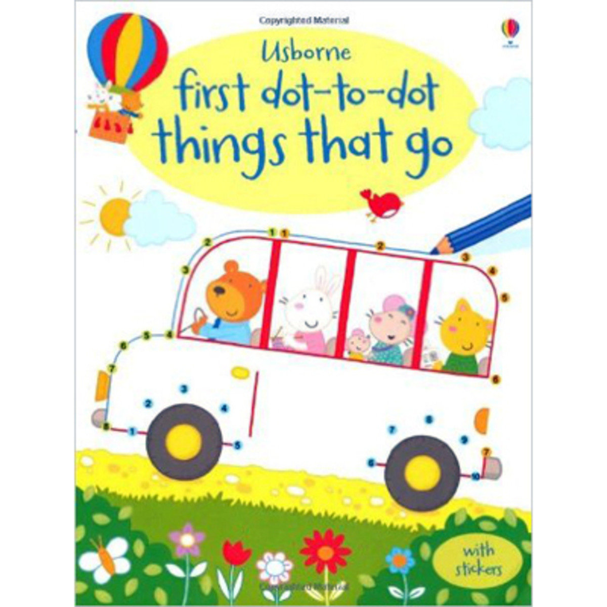 First Dot-To-Dot Things That Go