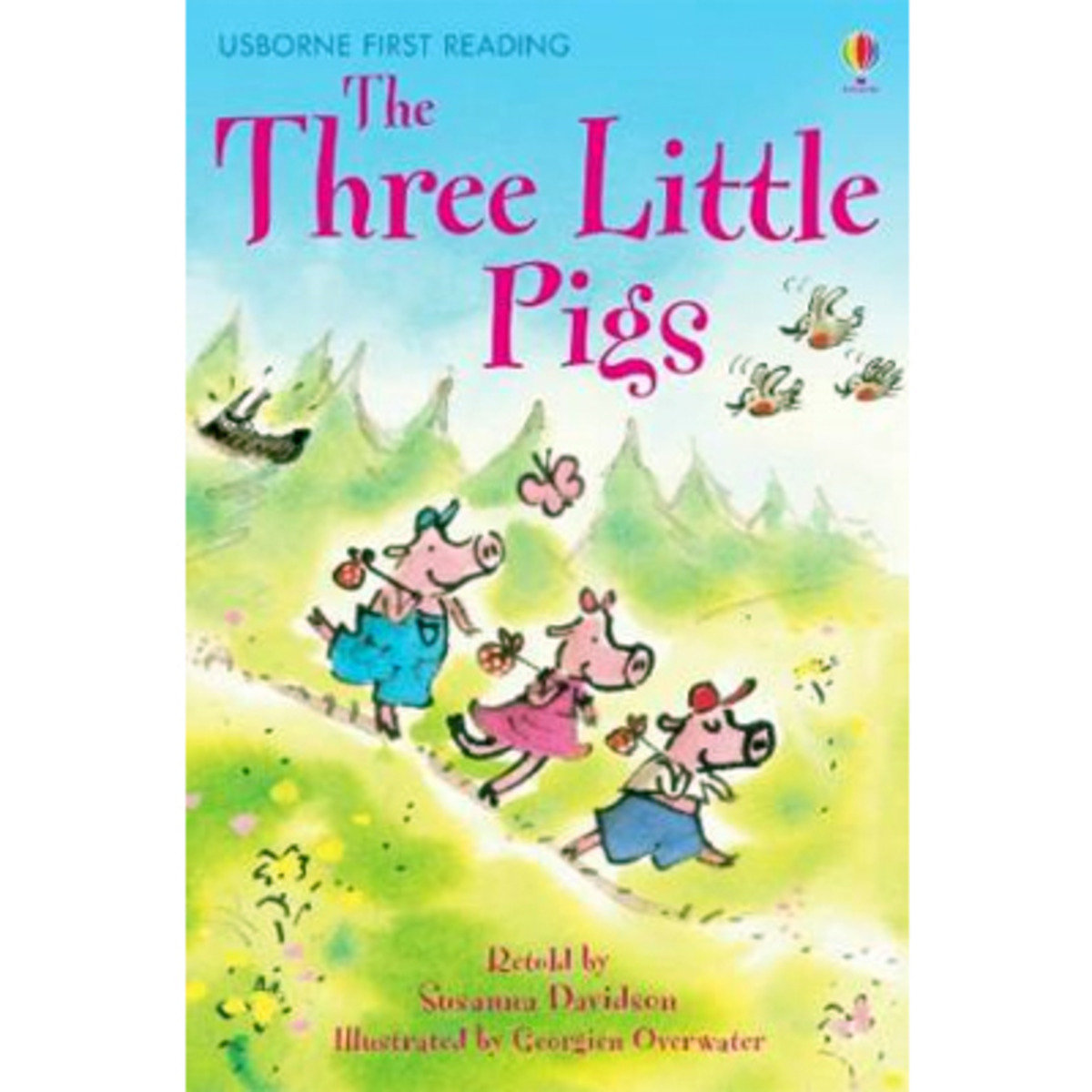 The Three Little Pigs-First Reading with CD