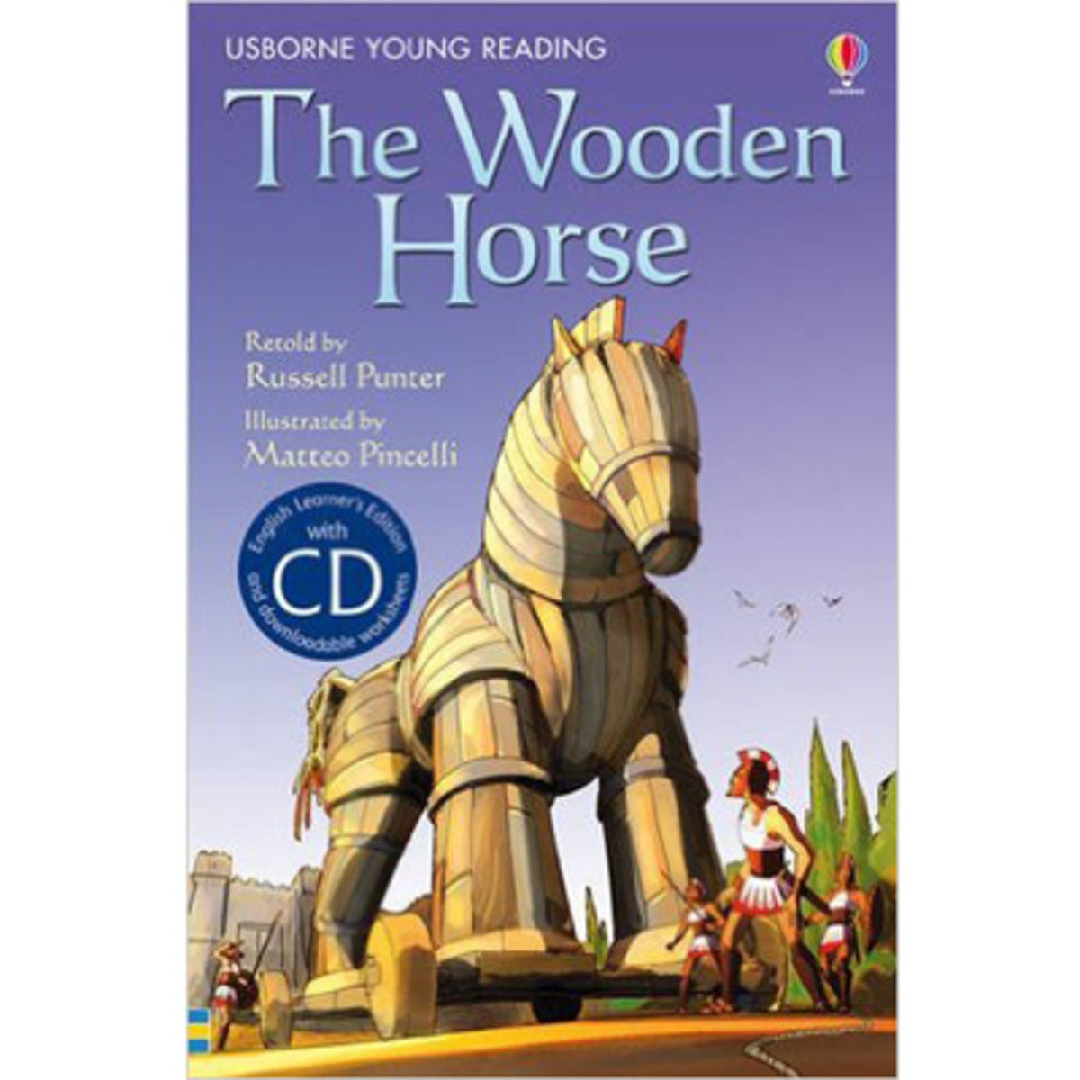 The Wooden Horse-Young Reading 1 with CD