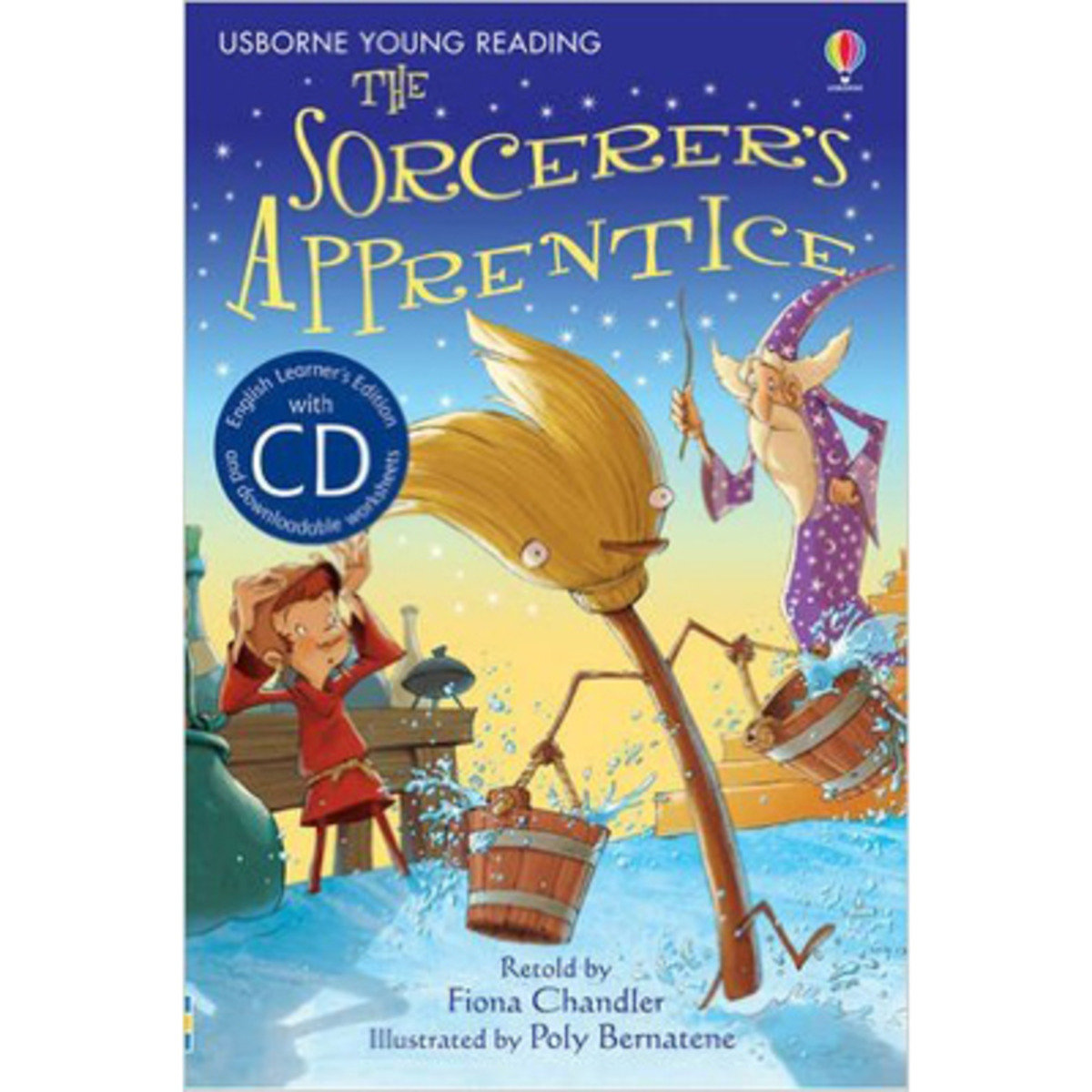 The Sorcerer's Apprentice-Young Reading 1 with CD