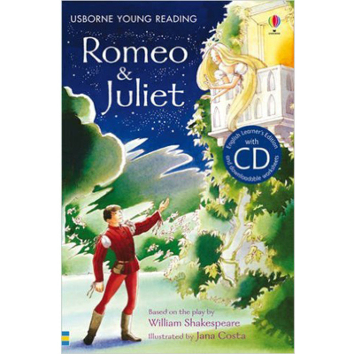 Romeo & Juliet-Young Reading 2 with CD